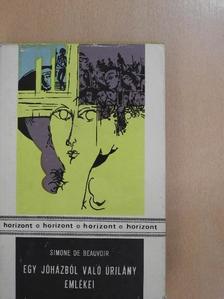 Simone de Beauvoir - Egy jóházból való úrilány emlékei [antikvár]