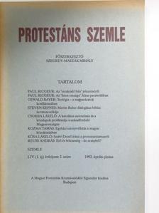 Csorba László - Protestáns Szemle 1992. április-június [antikvár]