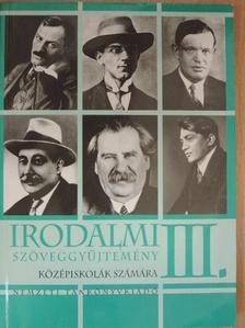 Ady Endre - Irodalmi szöveggyűjtemény III. [antikvár]