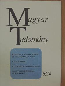 Bálint Csanád - Magyar Tudomány 1995. április [antikvár]