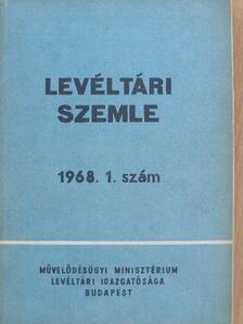Bálint Ferenc - Levéltári Szemle 1968. január-április [antikvár]