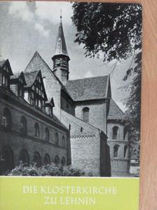 Ernst Ullmann - Die Klosterkirche zu Lehnin [antikvár]