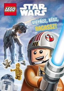 LEGO Star Wars - Vigyázz! Kész! Ragassz! - Foglalkoztató matricákkal