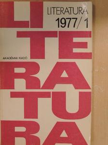 Alföldy Jenő - Literatura 1977/1-4. [antikvár]