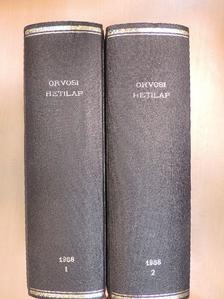 Andó Béláné - Orvosi Hetilap 1988. január-december I-II. [antikvár]