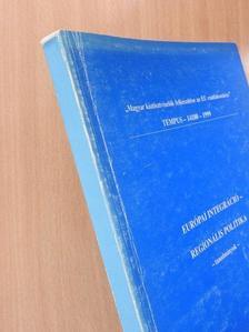 Csermák Judit - Európai integráció - Regionális politika [antikvár]