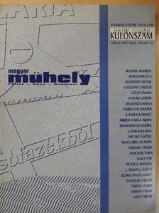 Bohár András - Magyar Műhely 1996. július [antikvár]