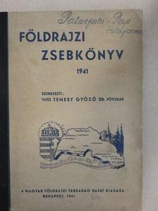 Bodnár Lajos - Földrajzi zsebkönyv 1941. [antikvár]