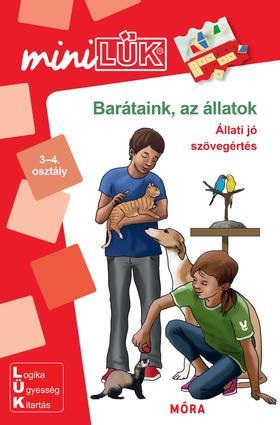Barátaink az állatok - Állati jó szövegértés - 3-4. osztály - LDI-265
