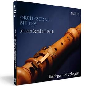 Bach - ORCHESTRAL SUITES CD THÜRINGER BACH COLLEGIUM