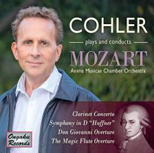 MOZART - CLARINET CONCERTO CD COHLER
