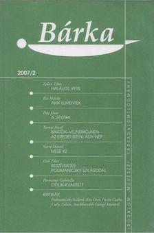 Elek Tibor - Bárka 2007/2 [antikvár]