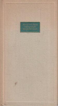 Guy de Maupassant - Versek - Guy de Maupassant - Kosztolányi válogatott műfordításai [antikvár]