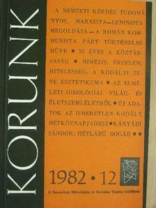 Angi István - Korunk 1982. december [antikvár]
