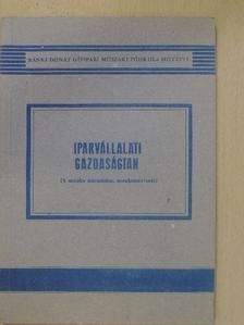 Dr. Varga Sándor - Iparvállalati gazdaságtan [antikvár]