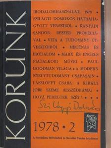 Angi István - Korunk 1978. február [antikvár]