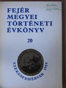 Dani Lukács - Fejér Megyei Történeti Évkönyv 20. [antikvár]