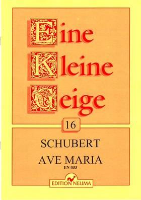 SCHUBERT - AVE MARIA -EINE KLEINE GEIGE 16.HEGEDŰ-ZONGORA