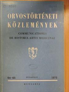 Bálint Sándor - Orvostörténeti közlemények 64-65. [antikvár]