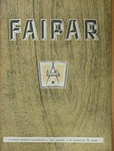 Arató István - Faipar 1961. január-december [antikvár]
