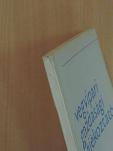Borlai Oszkár - Vegyipari Gazdasági Tájékoztató 1971/1. [antikvár]