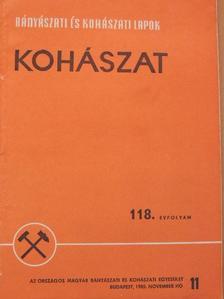 Bezdek Károly - Bányászati és Kohászati Lapok - Kohászat/Öntöde 1985. november [antikvár]