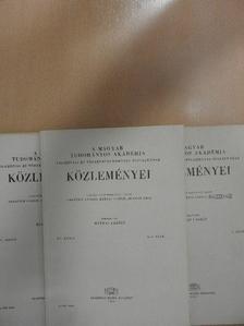 Bródy András - A Magyar Tudományos Akadémia Filozófiai és Történettudományi Osztályának közleményei 1966/1-4. [antikvár]