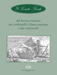9 SONATE FACILI DEL BAROCCO ITALIANO PER VIOLONCELLO E BC O DUE CELLI