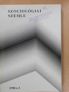 Blaskó Zsuzsa - Szociológiai szemle 1998/3. [antikvár]