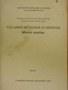 Kiss József - Villamos műszerek és mérések [antikvár]