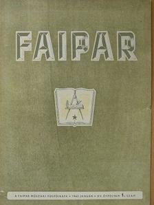 Arató István - Faipar 1965. január-december [antikvár]
