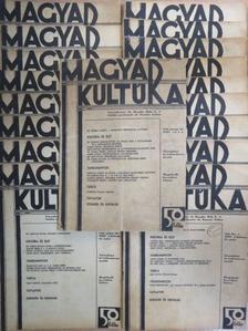 Albert József - Magyar Kultúra 1937. (nem teljes évfolyam) [antikvár]