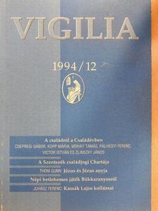 Bari Károly - Vigilia 1994. december [antikvár]