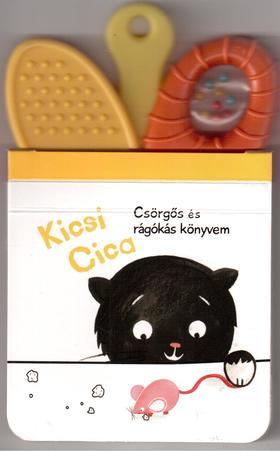 Yoyo Books - Csörgős és rágókás könyvem:Kicsi Cica