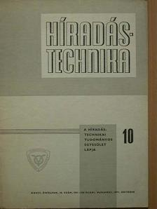 Bognár László - Híradástechnika 1977. október [antikvár]