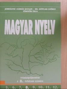 Dr. Széplaki György - Magyar nyelv 8. [antikvár]