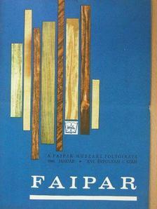 Arató István - Faipar 1966. január-december [antikvár]