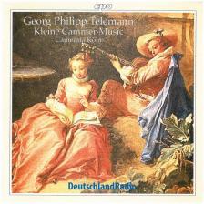 TELEMANN - KLEINE CAMMER-MUSIC CD CAMERATA KÖLN