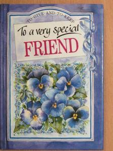 Albert Camus - To a very special friend [antikvár]