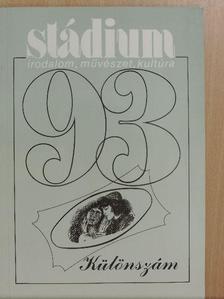 A. Gergely András - Stádium 1993. különszám [antikvár]