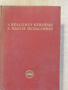 Bán Imre - A realizmus kérdései a magyar irodalomban [antikvár]