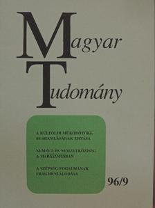 Bartke István - Magyar Tudomány 1996. szeptember [antikvár]