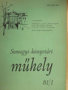 Balázs Imre - Somogyi-könyvtári műhely 1981. március [antikvár]