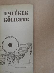 Berbszt Zoltán - Emlékek kőligete [antikvár]
