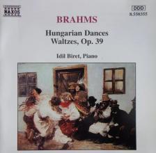 BRAHMS... - HUNGARIAN DANCES, WALTZES OP.39 CD IDIL BIRET