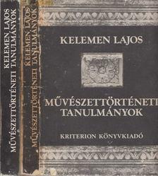 Kelemen Lajos - Művészettörténeti tanulmányok I-II. [antikvár]