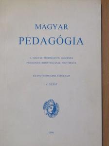 Csíkos Csaba - Magyar Pedagógia 1996/4. [antikvár]