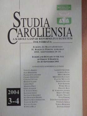Claude Michaud - Studia Caroliensia 2004/3-4. [antikvár]
