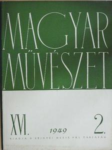 Bauer Jenő - Magyar művészet 1949/2. [antikvár]