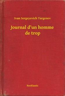 Turgenev, Ivan Sergeyevich - Journal d'un homme de trop [eKönyv: epub, mobi]